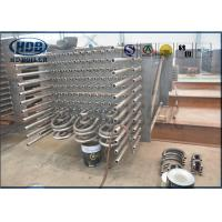 Water Tube Alloy Steel Boiler Economizer , Custom Power Plant Economizer Manufactures
