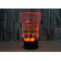 Quality Table Acrylic LED Night Light With 3D Engraving Best Gift Customized Your Own Pattern for sale