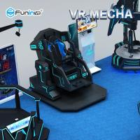 China 700KW 9D Virtual Reality Simulator 360 Degree Rotation Shooting Game With Safety Belt on sale