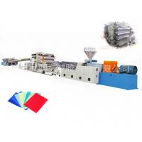 China Durable Plastic Sheet Extrusion Line For PC Endurance Board CE ISO on sale