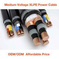3.6/6KV XLPE Insulated MV cables,medium voltage power cables(YJV) Manufactures
