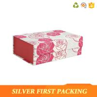 Silver First custom printing decorative magnet book shaped cardboard gift box Manufactures