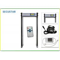 China CE FCC Approved Archway Metal Detector , Metal Detector Security Gate For Airport on sale