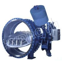 China Large Hydraulic Counter Weight Butterfly Valve on sale