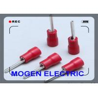 Position mobile pin Insulated Wire Terminals hot selling PTV Insulator red Manufactures