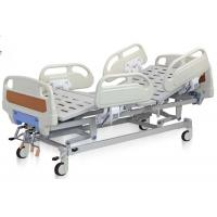 Reclining Hospital Bed Adjustable Mechanical Hospital Bed 3 Functions ABS Hand Rail Guard Manufactures