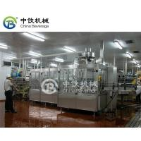 China Auto Capping Carbonated Beverage Filling Machine Stainless Steel Compact Structured on sale