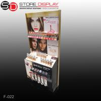 Custom LOREAL lipstic floor display pop stand Manufactures