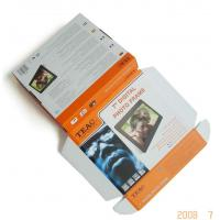 China Promotional Corrugated Paper Gift  Packaging Boxes Uv Printing For 7'' Digital Photo Frame on sale