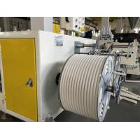 PVC single wall corrugated pipe extrusion machine Manufactures