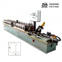 Automatic Main And Cross T Grid Steel Deck Forming Machine 25mm Column Plate Frame Manufactures