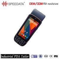 GPS POS Terminal Industrial PDA Device Qr Code Scanner Reader / Wireless Scanner Printer Manufactures
