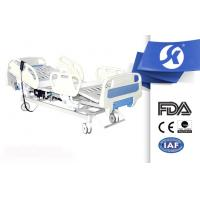 Fully Electric Hospital Bed With Soft Connection Handheld Controller Manufactures