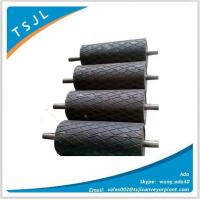 Conveyor rubber lagging drum pulley Manufactures