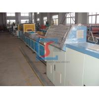 Wood Plastic Extrusion Line , Door Making Machine With PLC Control System Manufactures