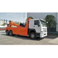 China 371hp Road Platform Recovery 60 Ton Wrecker Truck LHD RHD Driving type on sale