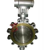 Hard Seal Metal Seated Butterfly Valve Gear Type For Metallurgy / Light Industry Manufactures