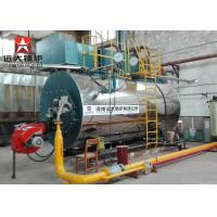 Factory Automatic WNS Diesel Oil Natural Gas Fired Fire Tube Steam Boiler Price Manufactures