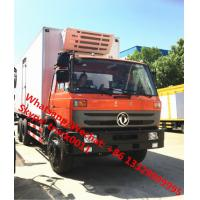 durable best price dongfeng 6*4 LHD 210hp 15tons refrigerator truck for sale, Wholesale OEM customized cold room truck Manufactures