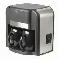 Electric Coffee Maker with 2 Ceramic Cups and Nylon Permanent Filter Manufactures