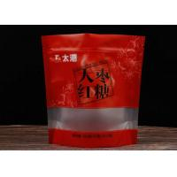 Specially Translucent Snack Food Packaging Bags / Jujube Resealable Food Pouches Manufactures