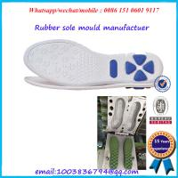 China Sports Shoes Outsole Mold Aluminium / Steel Structure Rust Proof on sale