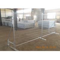 Outdoor Galvanized Temporary Fence Panels 42 Microns Australian Standard Manufactures