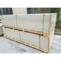 China Square / Recessed Edge Exterior Fiber Cement Board Reinforced Shatter Resistant on sale