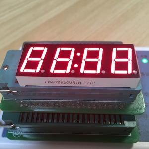 "Super red common anode 0.56"" 4 Digit LED Clock display for digital clock indicator Manufactures"