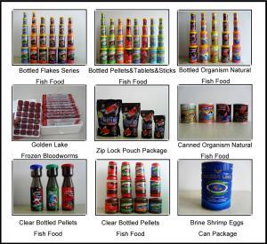 Bottled Aquarium Fish food Manufactures