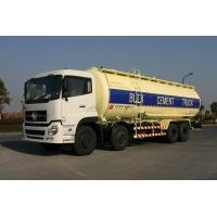 8x4 Dry Bulk Tank For Cement Transport 27cbm Dry-Mixed Powder Truck Manufactures