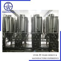 3m3/H Pump Industrial Beer Brewing Equipment Customized Capacity High Efficiency Manufactures