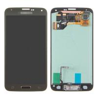 For Samsung Galaxy S5 SM-G900/G900A/G900V/G900P/G900R4 LCD and Digitizer Assembly with Home Button - Gold - Grade A+ Manufactures