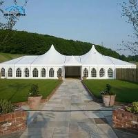 Quality Luxury Custom Party Tents , Mixed Event Marquee Tent For 500 Person for sale