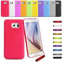 0.33mm Ultra Thin Samsung Cell phone Cove Both sides Matte PVC Phone cover Manufactures