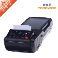 Quality handheld wireless POS terminal with fingerprintscanner,rfid reader,printer,etc. for sale