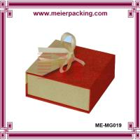 Megnetic closure jewelry gift box/Custom earring/ring/necklace paper packaging box ME-MG019 Manufactures