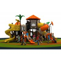 Multi Color Outdoor Play Area Equipment 990 * 800 * 660 CM LLDPE Manufactures