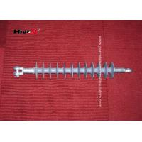 CE / SGS Approved Polymer Suspension Insulators With Tongue / Clevis Metal Fittings Manufactures