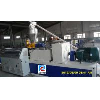 China PVC Profile Extrusion Line Plastic Extrusion Equipment Fully Automatic on sale