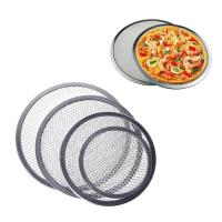 Food Grade Wire Mesh Filter Disc , Stainless Steel / Aluminum Pizza Screen Manufactures
