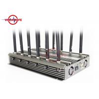 China GPS / Lojack Cell Phone Frequency Jammer , Remote Control Jammer Stable Capability on sale