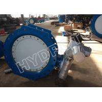 Electric / Manual Drived Wafer Butterfly Valve With Water Pressure 0.25Mpa - 2.5Mpa For Hydropower