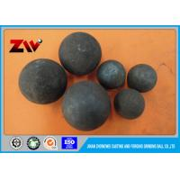 China Water quenching / wind quenching heat treatment grinding media steel balls on sale