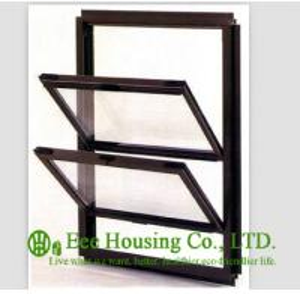 Double glazed Aluminum Alloy Awning Window, With Anodised Finished Manufactures