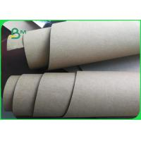 China Natural Fabric High Strength Washable Kraft Paper Rolls For Shopping Bags on sale