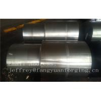 42CrMo4 SCM440 AISI 4140 Alloy Steel Forged Shaft Blanks Quenching And Tempering Rough Machining Manufactures