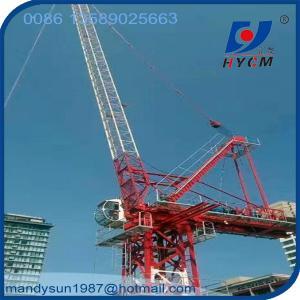 Brand New 6tons 25m Jib QTD2520 Luffing Jib Self-Erecting  Fixed Tower Crane Manufactures