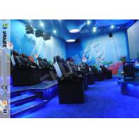 Customized 5D Movie Theater Ocean park 5D Motion Cinema Arc Screen Luxury Chairs  Movies Manufactures
