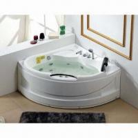 China Whirlpool with Massage Funtion, Measures 1350 x 1350 x 680mm on sale